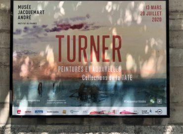 Musée Jacquemart André. exposition Turner